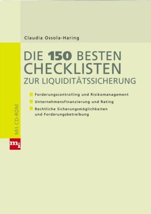 Die 150 besten Checklisten zur Liquiditätssicherung