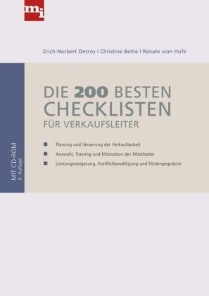 Die 200 besten Checklisten für Verkaufsleiter