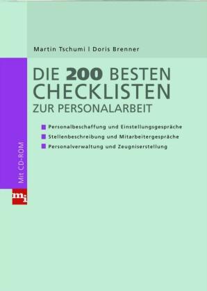 Die 200 besten Checklisten zur Personalarbeit
