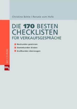 Die 170 besten Checklisten für Verkaufsgespräche