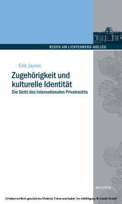 Zugehörigkeit und kulturelle Identität