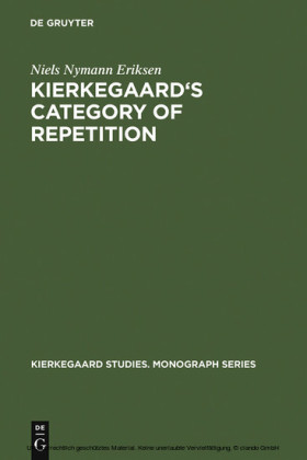 Kierkegaard's Category of Repetition