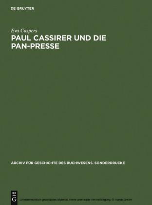Paul Cassirer und die Pan-Presse