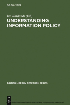 Understanding Information Policy