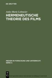 Hermeneutische Theorie des Films