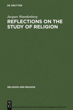 Reflections on the Study of Religion