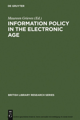 Information Policy in the Electronic Age