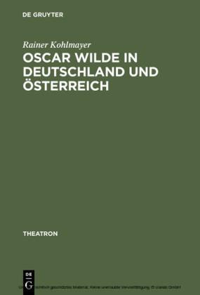 Oscar Wilde in Deutschland und Österreich