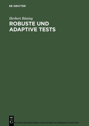 Robuste und adaptive Tests