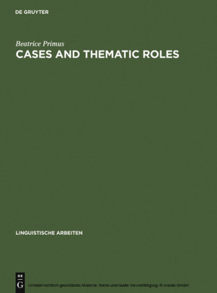 Cases and Thematic Roles