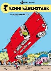 Benni Bärenstark - Die roten Taxis Cover