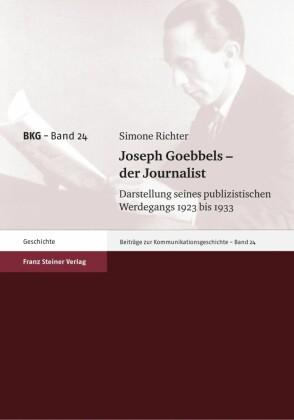 Joseph Goebbels - der Journalist