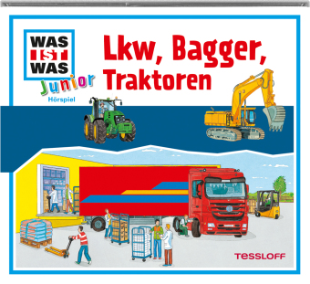 Lkw, Bagger, Traktoren, Audio-CD