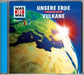 Unsere Erde / Vulkane, 1 Audio-CD Cover