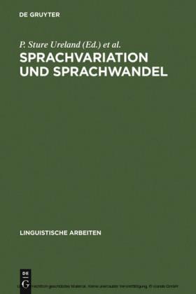 Sprachvariation und Sprachwandel