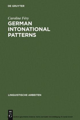 German intonational Patterns