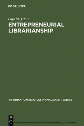 Entrepreneurial Librarianship