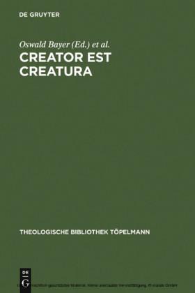 Creator est Creatura