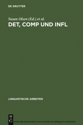 DET, COMP und INFL