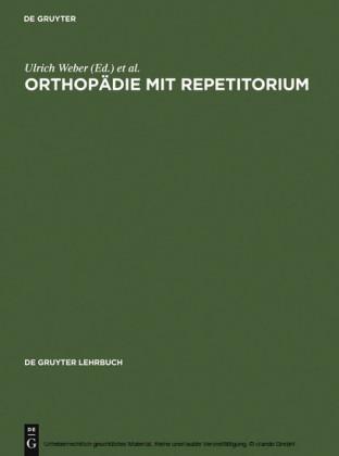 Orthopädie mit Repetitorium