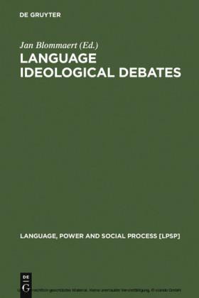 Language Ideological Debates