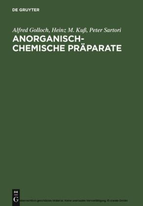 Anorganisch-Chemische Präparate