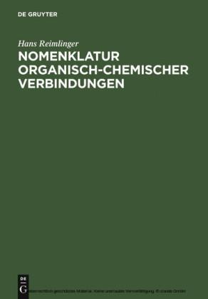 Nomenklatur Organisch-Chemischer Verbindungen