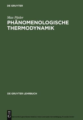 Phänomenologische Thermodynamik