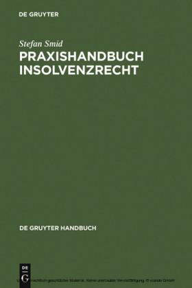 Praxishandbuch Insolvenzrecht