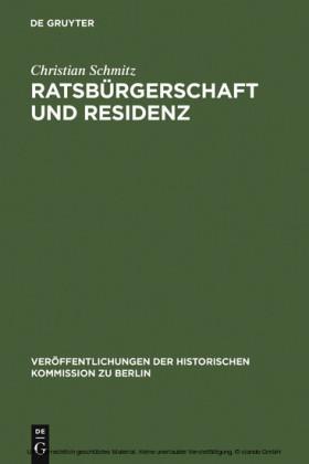 Ratsbürgerschaft und Residenz