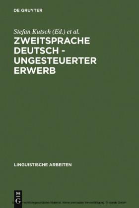 Zweitsprache Deutsch - ungesteuerter Erwerb
