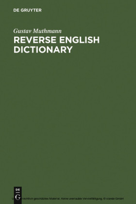Reverse English Dictionary
