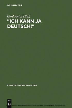 'Ich kann ja Deutsch!'