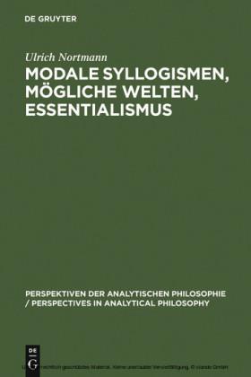 Modale Syllogismen, mögliche Welten, Essentialismus