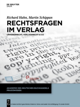 Rechtsfragen im Verlag