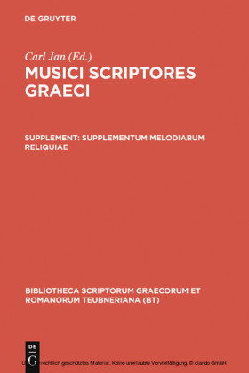 Supplementum melodiarum reliquiae