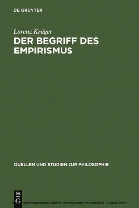 Der Begriff des Empirismus