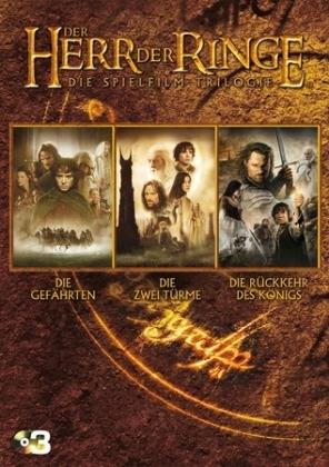 Der Herr der Ringe, Die Spielfilm-Trilogie, 3 DVDs