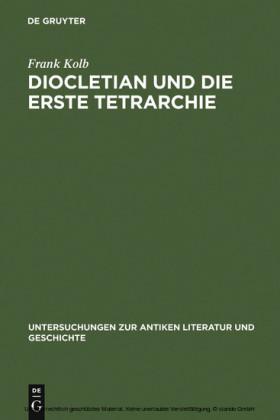 Diocletian und die Erste Tetrarchie