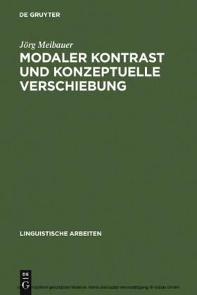 Modaler Kontrast und konzeptuelle Verschiebung