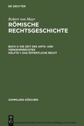 Das öffentliche Recht. Buch.2