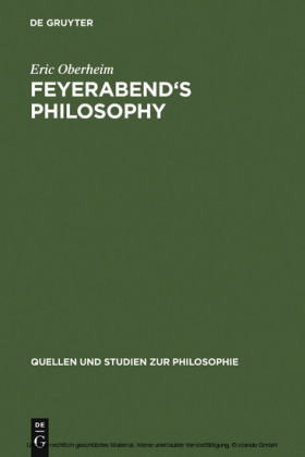 Feyerabend's Philosophy