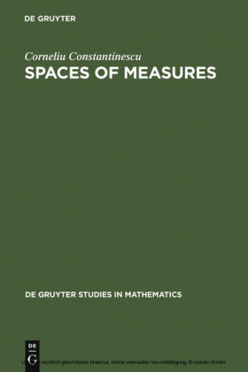 Spaces of Measures