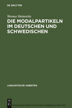 Die Modalpartikeln im Deutschen und Schwedischen