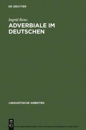 Adverbiale im Deutschen