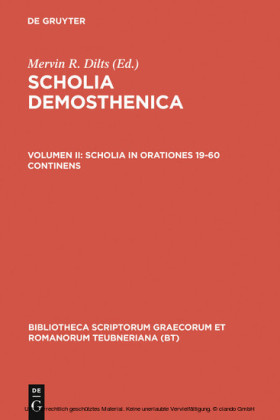 Scholia in orationes 19-60 continens