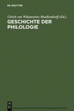 Geschichte der Philologie