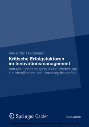 Kritische Erfolgsfaktoren im Innovationsmanagement