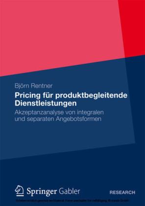 Pricing für produktbegleitende Dienstleistungen