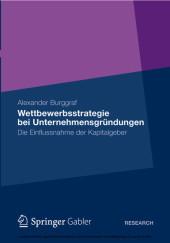 Wettbewerbsstrategie bei Unternehmensgründungen